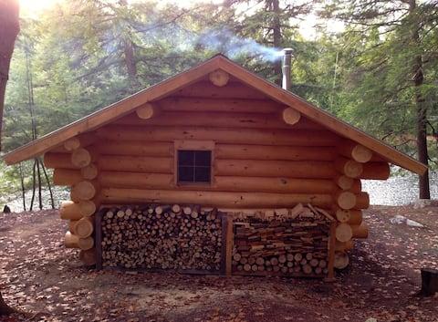 Vermont Log Cabin 3 Ponds 175 Acres