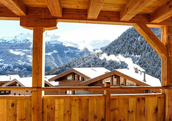 Ultimate Piste-side Luxury - Grimentz - Apartment