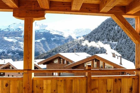 Ultimate Piste-side Luxury - Grimentz - Apartamento