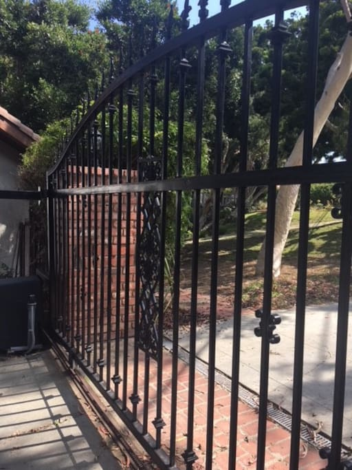Gated Entry!