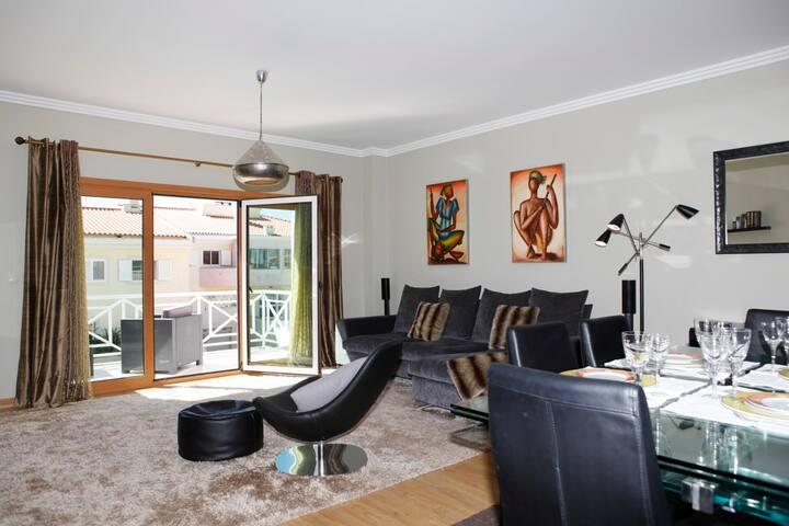 Graceful apartment in condo with pool, Cascais - Cascais - Daire