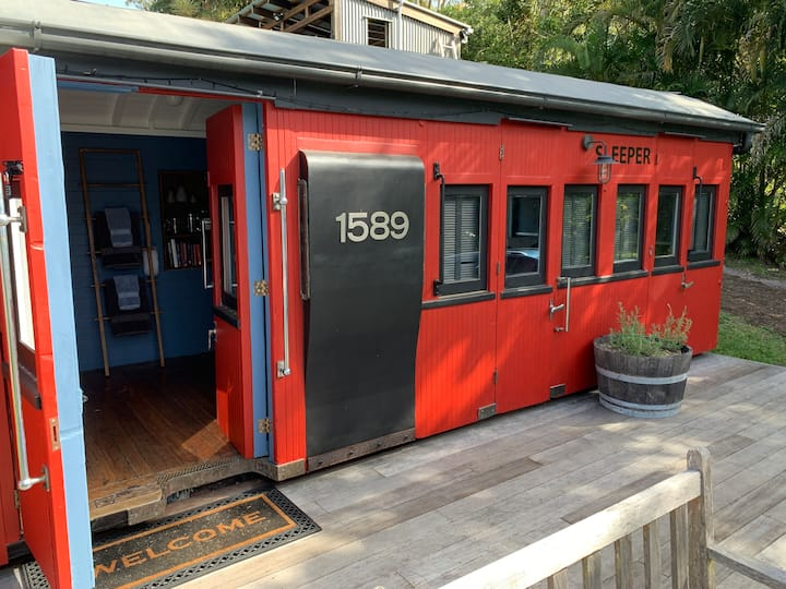 Little Red Train Carriage, Eumundi
