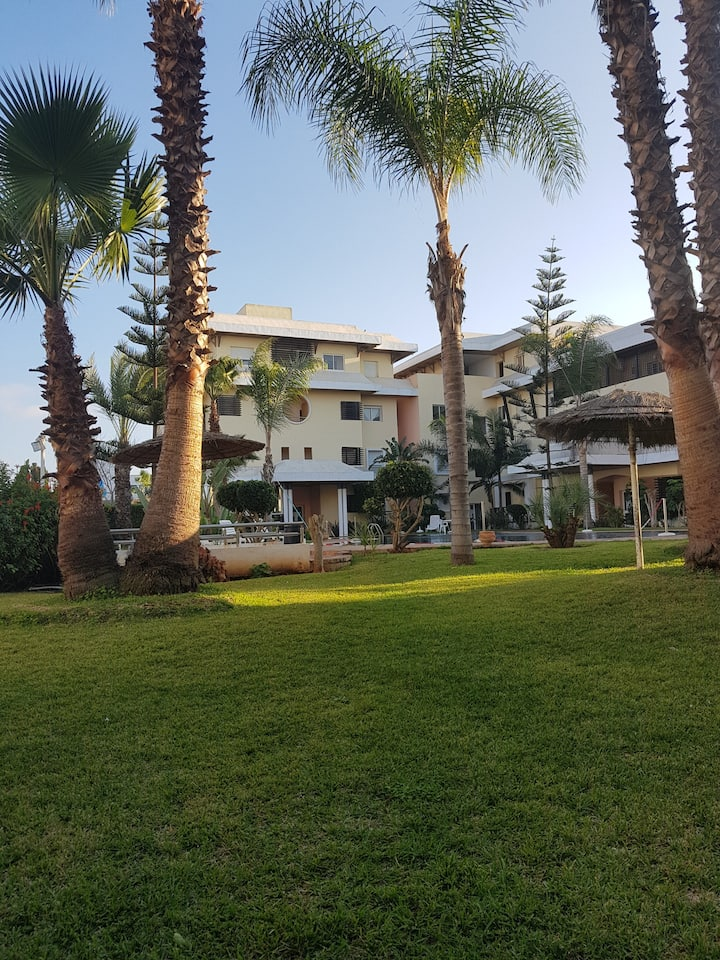 Beach Club Bouznika Bay Golf Appart Villa