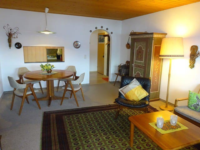 Nice two bedroom apartment in a beautiful little mountain village - Falera - Appartement