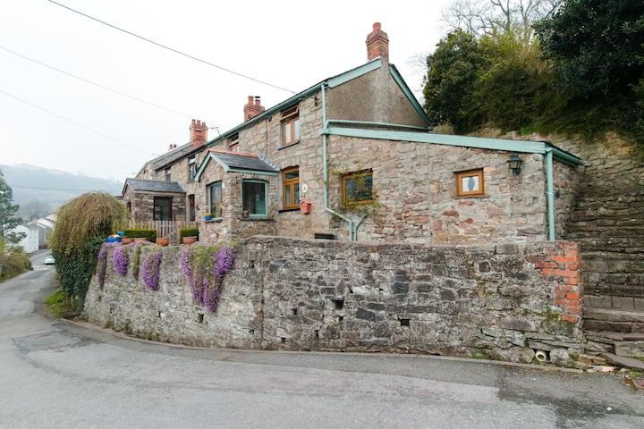 Foxglove Cottage beautiful views of Clydach Gorge