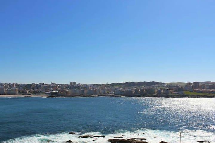 Habitación con vistas al mar!