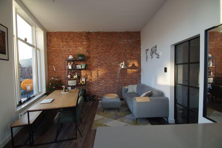 Design apartment: beach and A'dam closeby