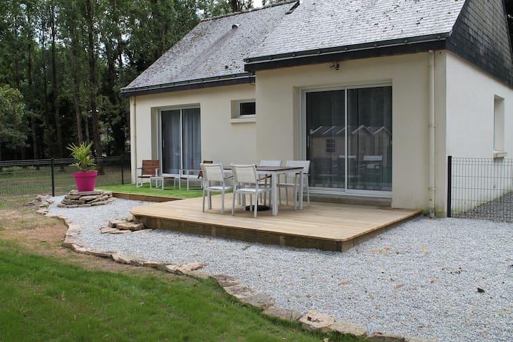 La Villa Morgane - Le Tour-du-Parc - Maison