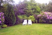 Snooze in our secluded garden