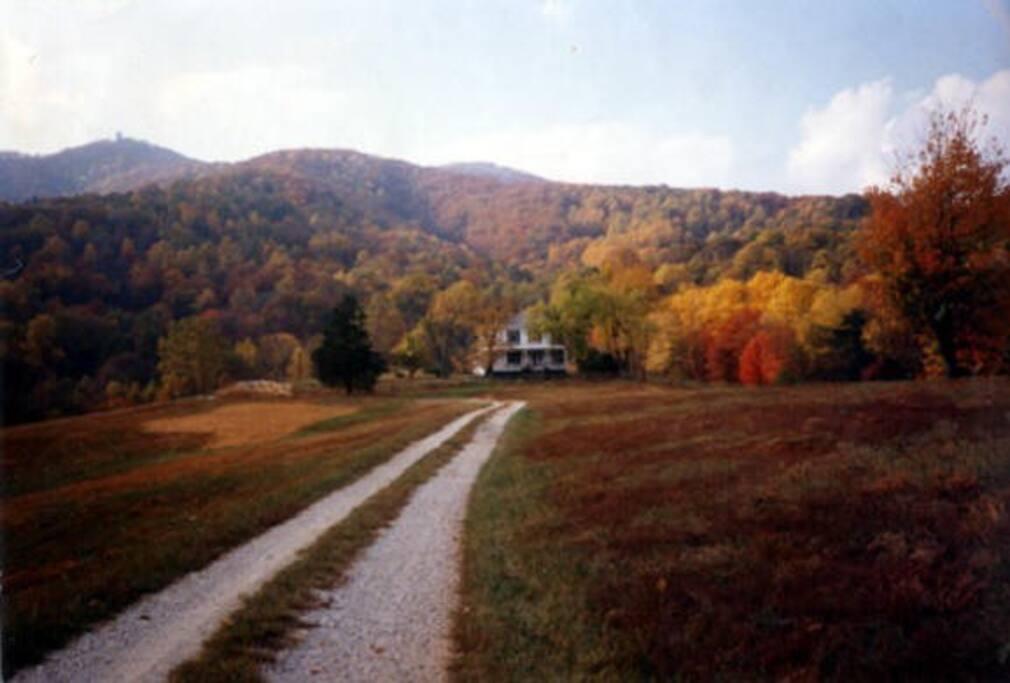 Heart of High Peak in Fall