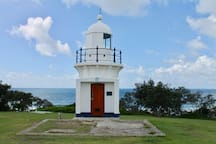 The East Ballina Lighthouse, a short stroll from the property.