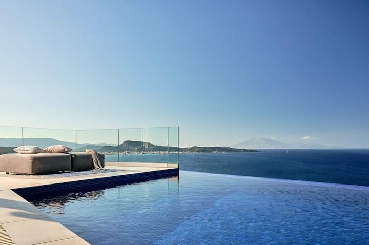 Impeccable Ionian Mudita, a Luxury Sea View Villa
