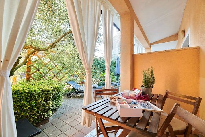 Villa Maris 4 ground floor, Wifi, quiet sunny area