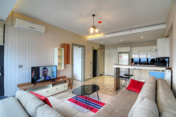 Fine modern apartment, 24/7 security 1 bedroom