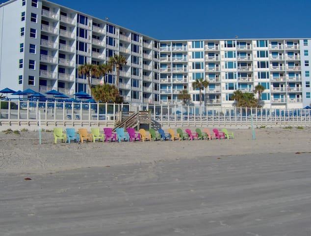 Feb 15-22 only, beach resort in New Smyrna Florida