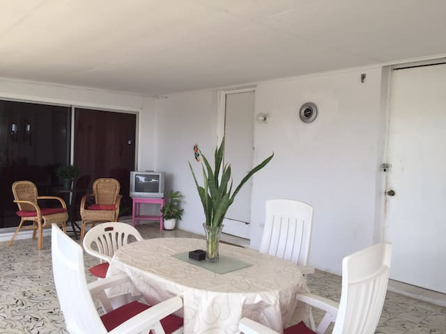 Seroe Colorado close to Baby Beach - San Nicolas - Apto. en complejo residencial