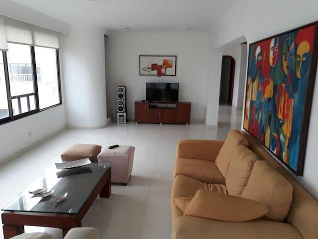 Habitación en apto compartido en Bocagrande, CTG