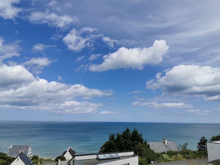 Maison au calme au bord de mer
