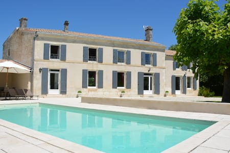 Luxurious house with heated pool - Saint-Georges-du-Bois