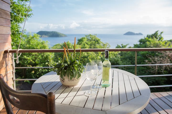 Private Seaview, Hansa Sunset Villa, Koh Phangan