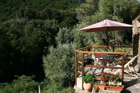 STUDIO APARTMENT IN CHARMING NORTHERN 'CAP-CORSE' - Luri - 一軒家