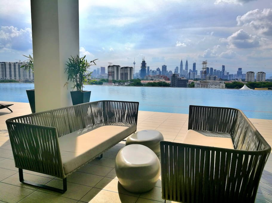 KLCC Infinity Pool View