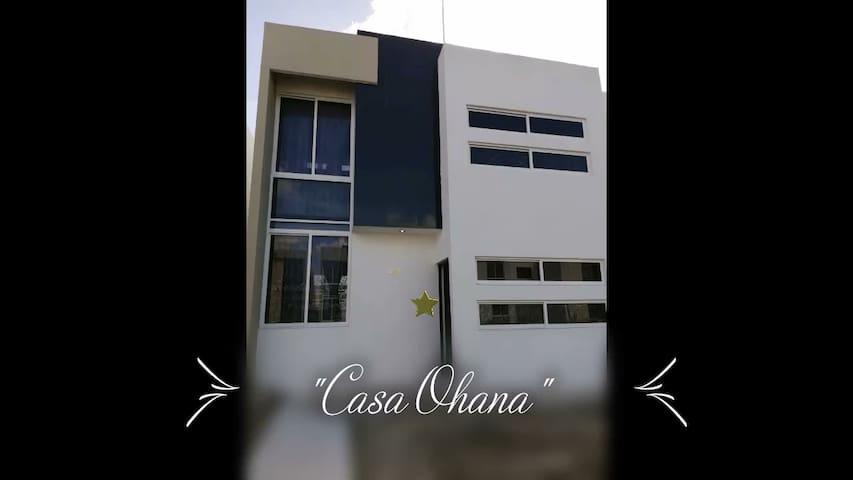 """""""CASA OHANA"""" Hogares Caucel, 15 min. centro Mérida"""