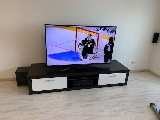 ****Spacious Apartment close to Ice Hockey Arena