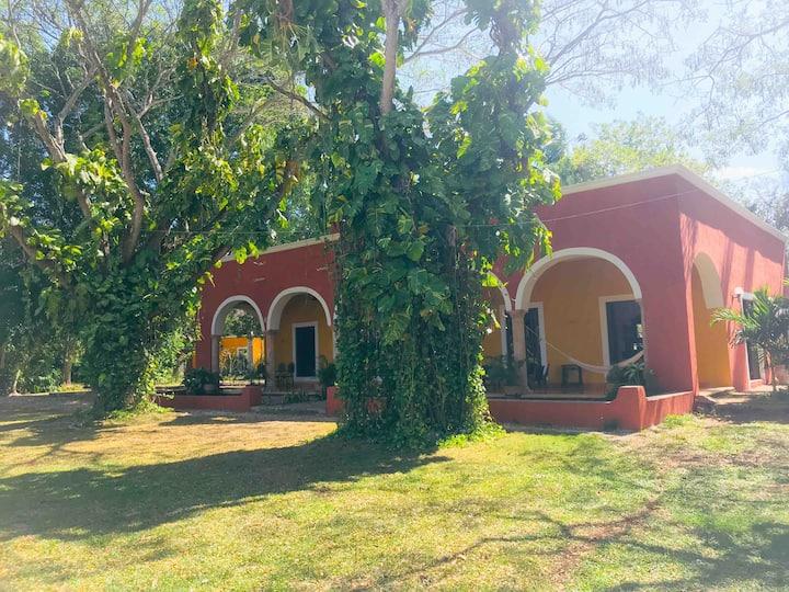 Hacienda La Pinka, lugar Mágico