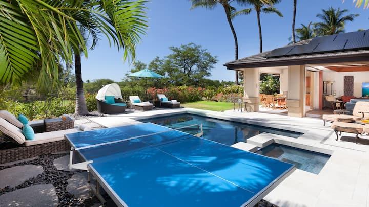 ❤️PiH❤️ Seabreeze Home ★Private Heated Pool★Bikes