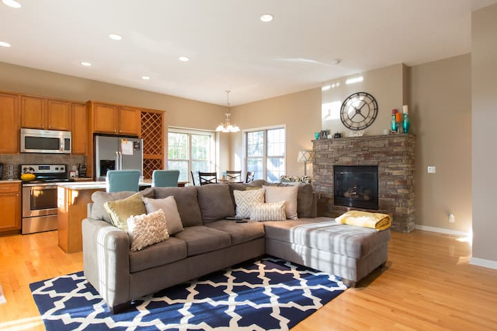 Cozy Townhouse in  Midtown Omaha - Omaha  - Townhouse