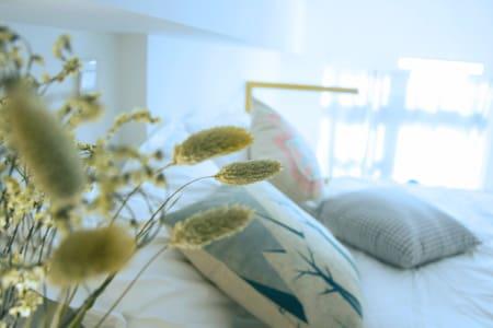 今夕•room1【假装在北欧】,BRT沿线,LOFT复式公寓,近机场,直达火车站,厦门北站 - Xiamen - Apartamento