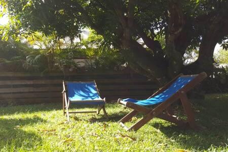 Agréable bas de villa meublé (T2) au Lamentin