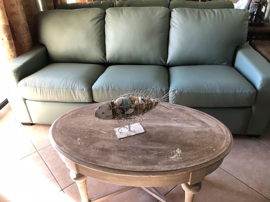 5 inch Memory Foam Sleeper Sofa