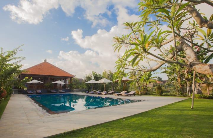 Balinese rooms#Krishna Home #9 by Canggu Village