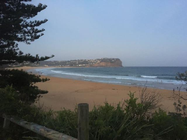 Location shot of Macmasters Beach
