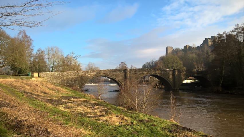 Ludlow Castle bridge