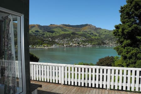 Akaroa's Best Kept Secret, a hidden waterfront gem - Akaroa - Hus