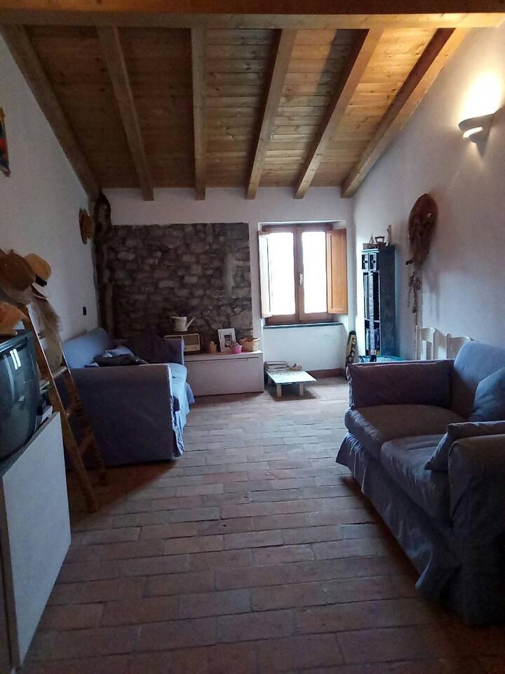 Casa con vista nell'antico borgo di Arcola