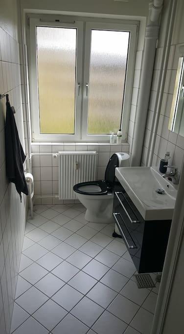 Badeværelset - The bathroom