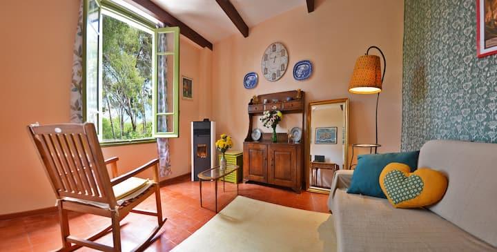 Torre Alpicella:  giardino, vista mare e relax!