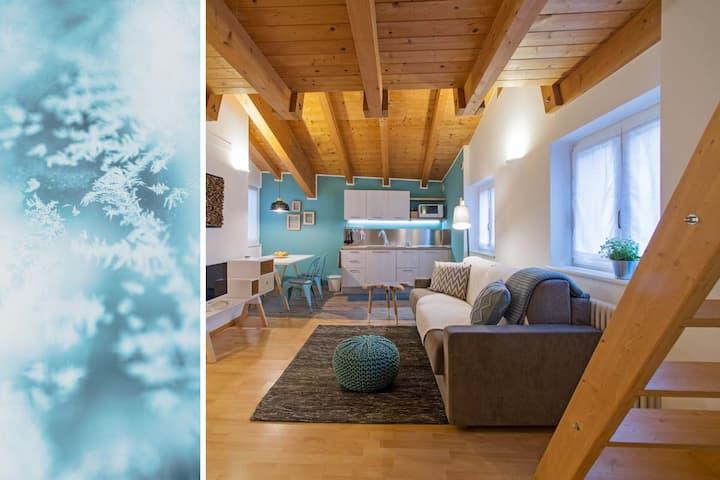Centro storico accogliente appartamento Blu