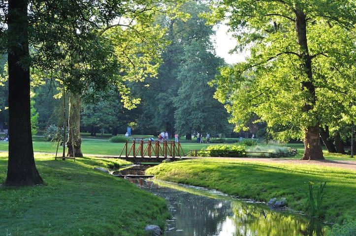Lužánky Park.