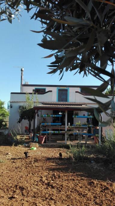 Una piccola casetta in mezza alla campagna- Ein kleines Landhaus -A little countryhouse