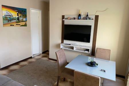 Apartamento mobiliado,  privacidade, ventilado