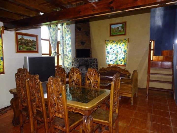 Cabaña Grande con 9 camas cocina y comedor complet