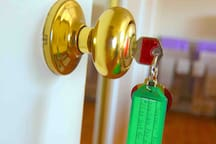 Your personal belongings can be locked while you are not on the premises.