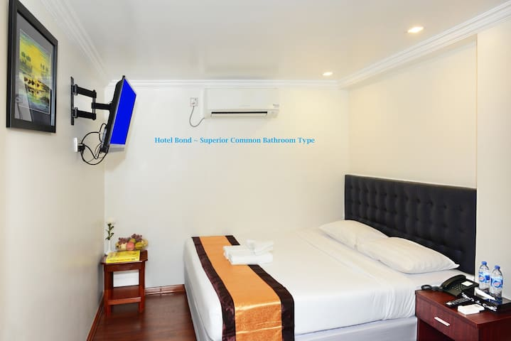 Yangon_CityBed with Shared Bathroom clean