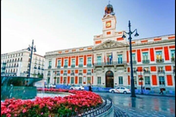 Puerta del Sol km 0