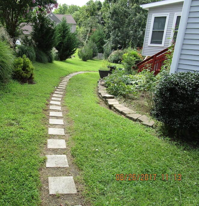 02 - Walkway to Apartment